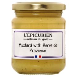 Mustard with Herbs de Provence L'Epicurien