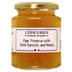 Pear Jam with Apricots & Honey L'Epicurien