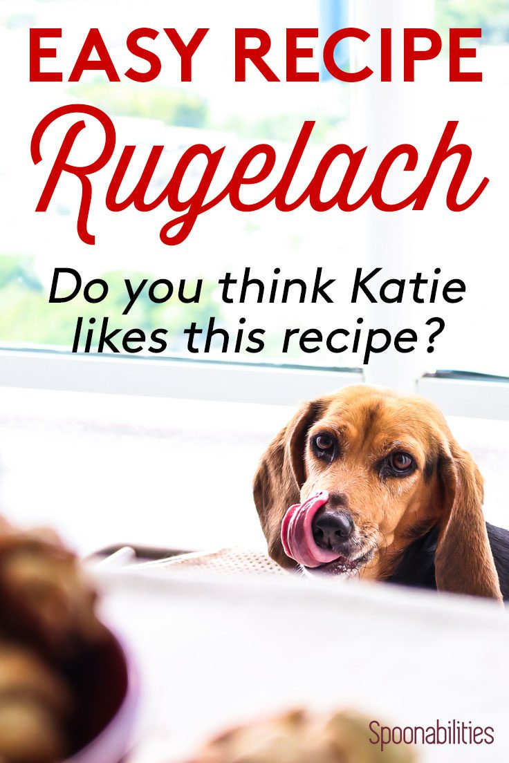 I think our dog Katie wants one of these Easy Rugelach cookies