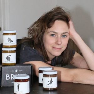 Candice Ross, owner of Brins Jams