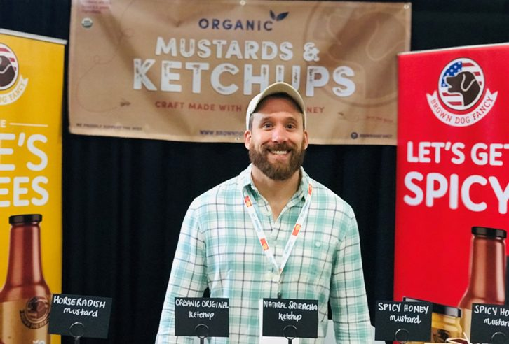 Kyle Rothschild, owner of Brown Dog Fancy Condiments