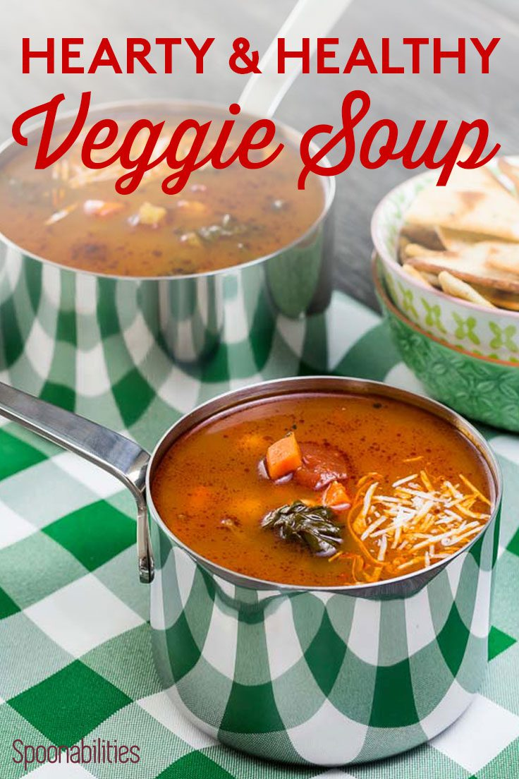 Hearty and Healthy Veggie Soup