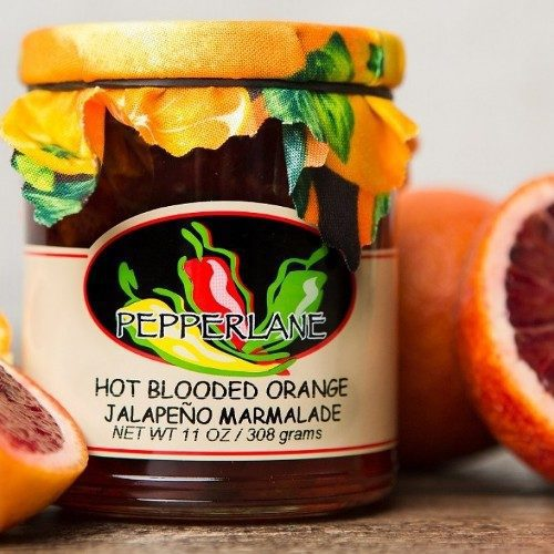 Hot Blooded Orange Preserves
