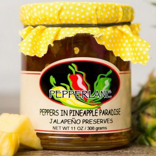 Peppers in Pineapple Paradise Preserves