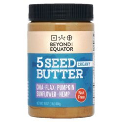 Creamy 5 Seed Butter from Beyond the Equator
