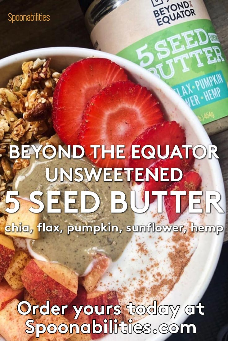 5 Seed Butter Unsweetened 3-pack