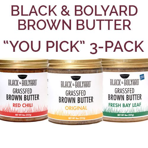 Black & Bolyard Brown Butter You-pick 3-pack