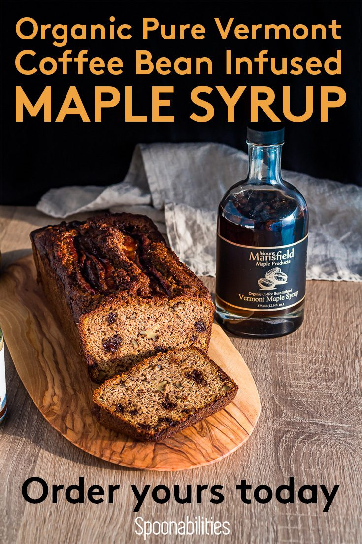 Vermont Maple Syrup Organic Coffee Bean infused