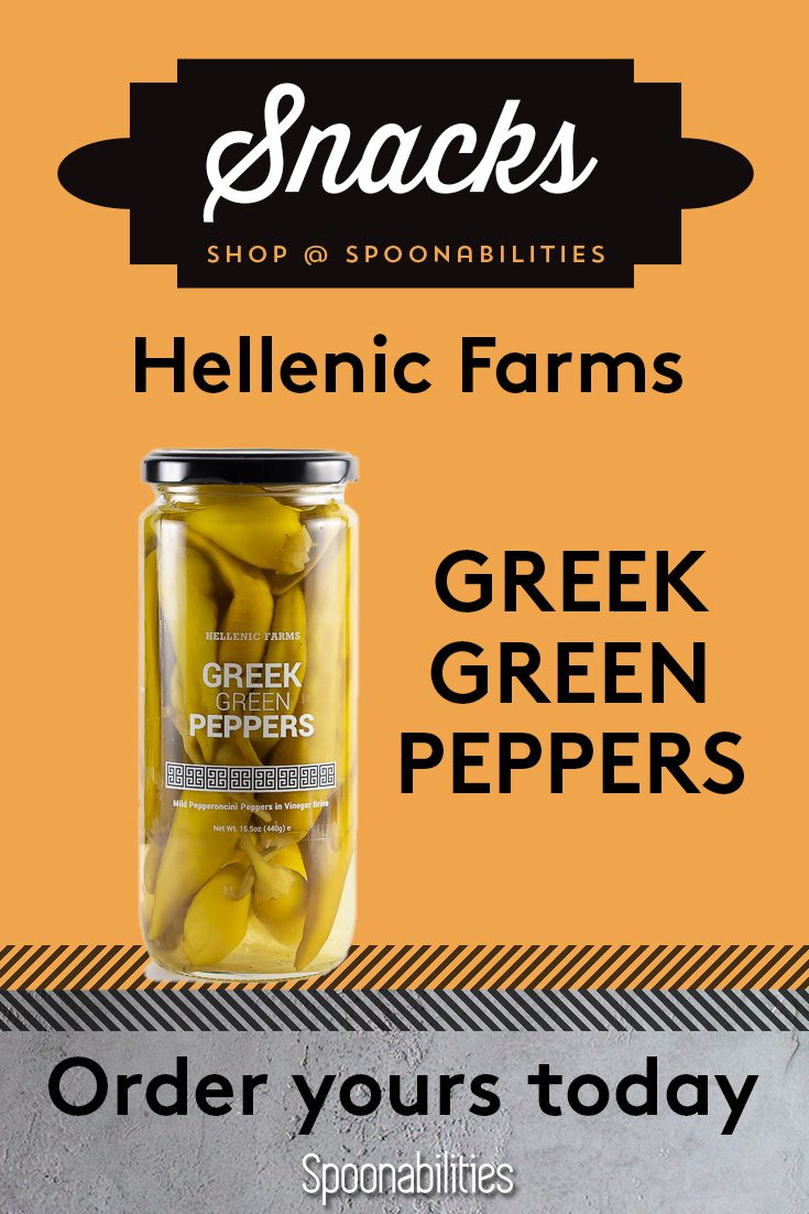 Greek Green Peppers Hellenic Farms 3-pack