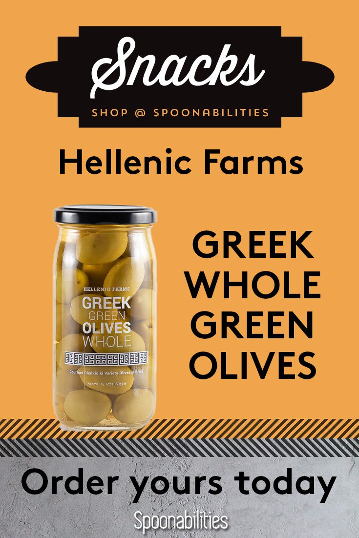 Greek Green Olives Whole Hellenic Farms 2-pack