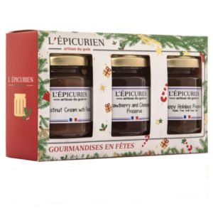 L'Epicurien Holiday Set of preserves and jams