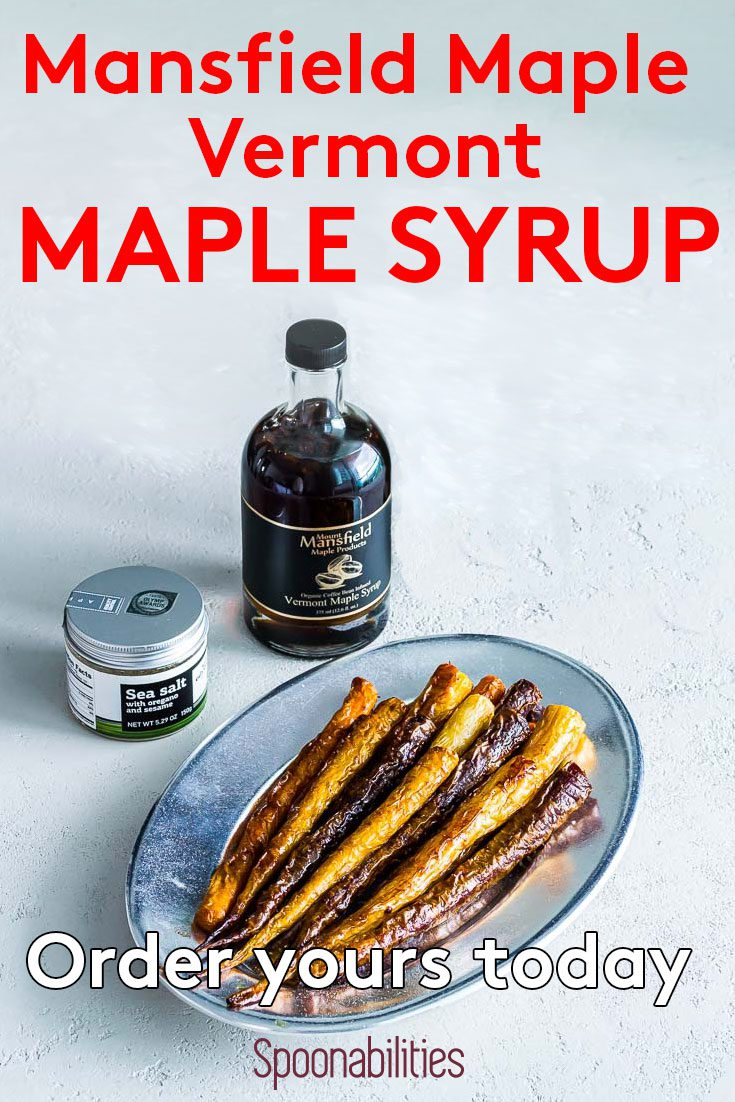 Pure Organic Vermont Maple Syrup - Amber Rich