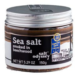 Salt Odyssey Sea Salt Smoked in Beechwood