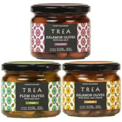 TREA Greek Olive Trio
