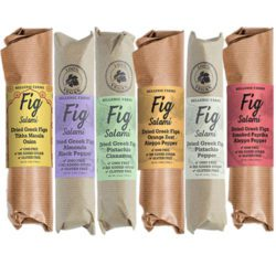 six-pack of Vegan Fig Salami