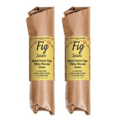 Tikka Masala Onion Vegan Fig Salami Hellenic Farms