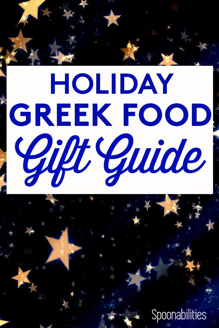 Greek Food Holiday Gift Idea & Guide
