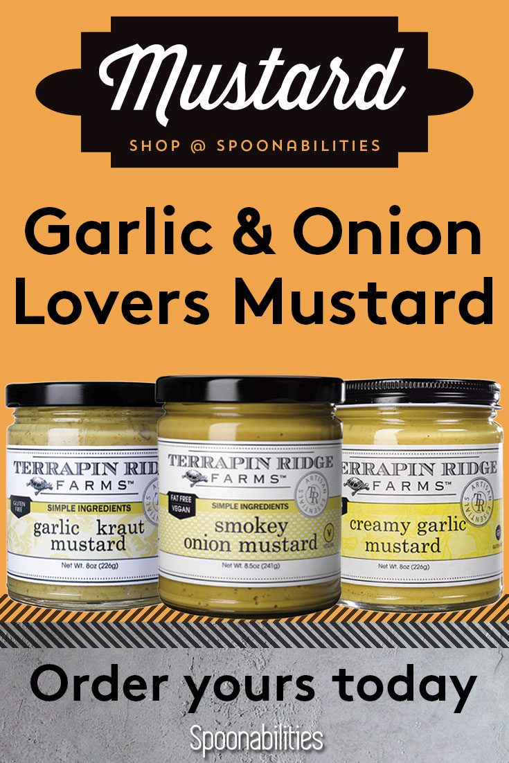 Garlic & Onion Lover\'s Mustard 3-pack