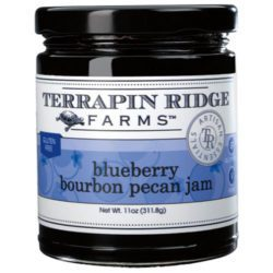 Blueberry Bourbon Pecan Jam is the perfect marriage of blueberries, pecans, raisins, cinnamon and a splash of bourbon. It is wonderful on toast, pancakes and waffles, and is an amazing ice-cream topper and sauce for pork and poultry. This jam is sure to become your favorite! Spoonabilities.com