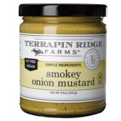 Smokey Onion Mustard is a dream come true for burger and brat lovers. The natural smoke flavor & crispy onions take your chicken salad or deviled egg recipes to a whole new level!