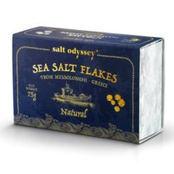 Natural Sea Salt Flakes from Greece, Salt Odyssey